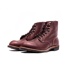 "Red Wing 8119 6"" Iron Ranger Boots (Oxblood Vibram)"