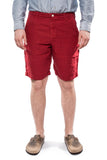 Spellbound 45-314L Linen Shorts Red