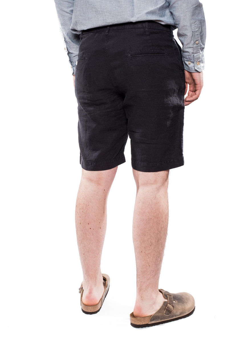 Spellbound 45-314L Linen Shorts Charcoal