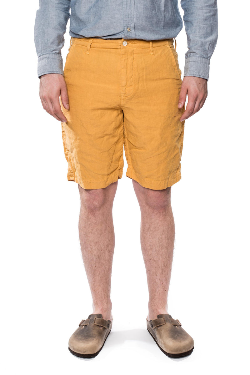 Spellbound 45-314L Linen Shorts Yellow