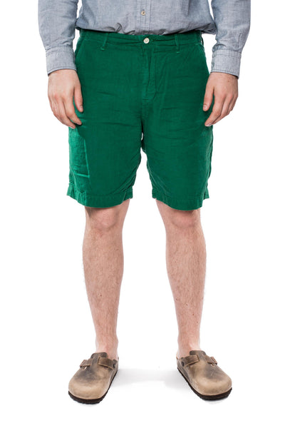 Spellbound 45-314L Linen Shorts Green