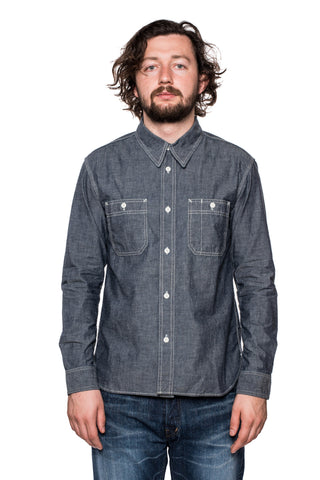 Eternal 52173 Chambray Shirt (Blue)