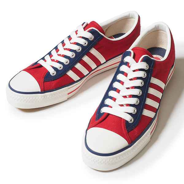 Warehouse 3500 Canvas Sneaker (Red)