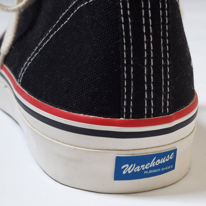 Warehouse 3200 Canvas Sneaker (Black)