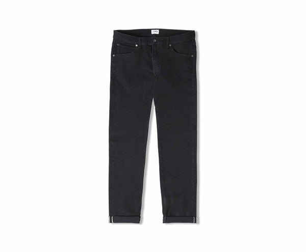 Edwin ED-85 White Listed Black Selvage Jean