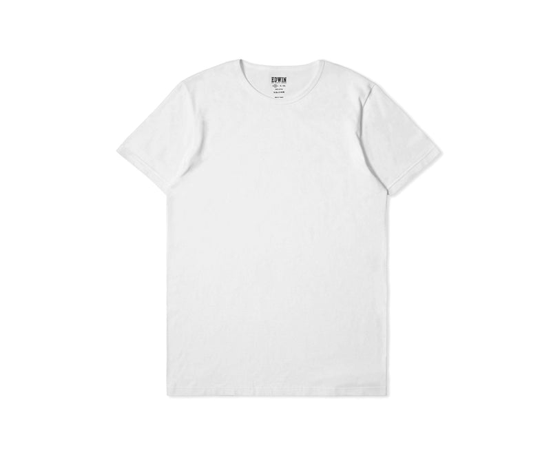 Edwin Double Pack SS Tee (White)