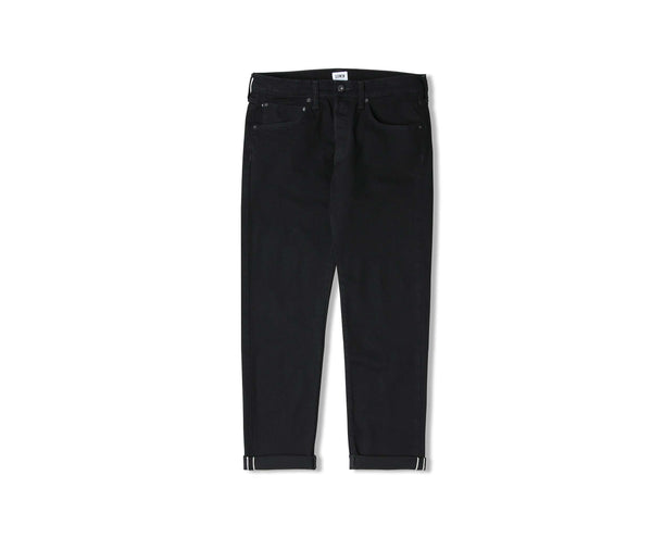 Edwin ED-55 CS White Listed Black Selvage Jean (Rinsed)