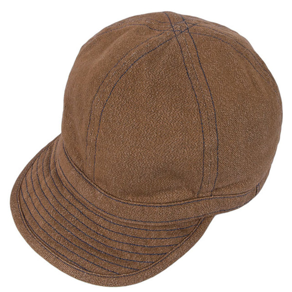 Buzz Rickson's US Army Denim Work Cap (Brown)