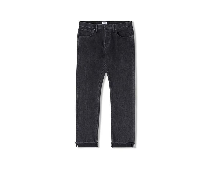 Edwin ED-85 White Listed Black Selvage Jean (Easy Acid Wash)
