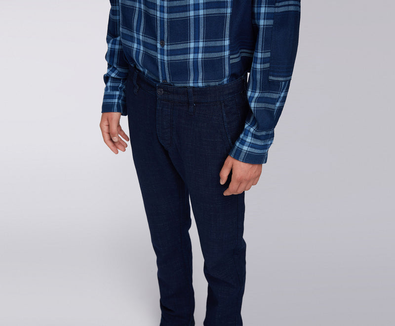 Edwin 55 Chino (Indigo Heavy Slub Cotton)