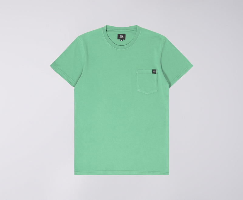 Edwin Pocket Tee (Frosty Spruce)