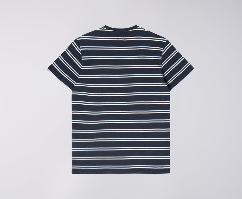 Edwin West Stripe T-Shirt (Navy)