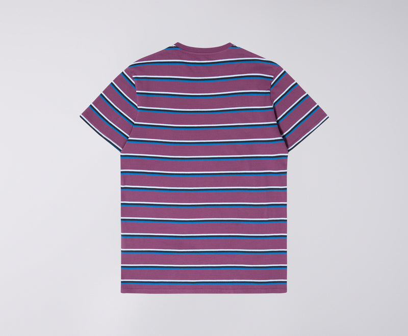 Edwin West Stripe T-Shirt (Fig)