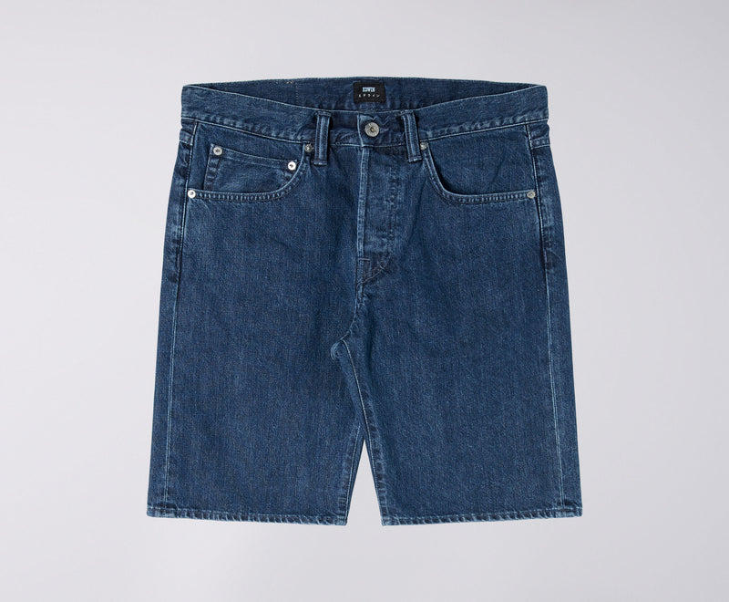 Edwin ED-55 Kingston Blue 12oz Denim Short (Topias Wash)