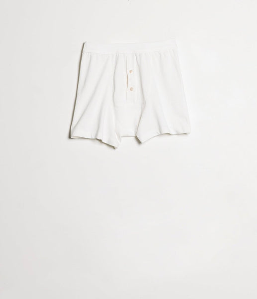 Merz b. Schwanen 255 Button Facing Underpants (White)