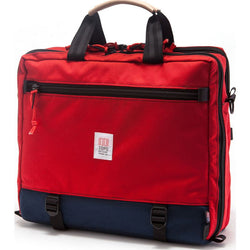 Topo Designs 3-Day Briefcase (Navy/Red)