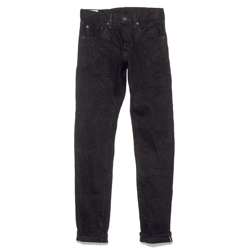 ONI 622 20oz Aizumi x Secret Denim Regular Tapered Jean (Black)