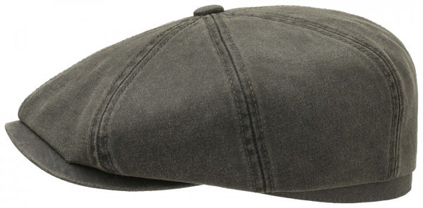 Stetson 6841102-5 Hatteras Cotton Flat Cap (Olive Green)