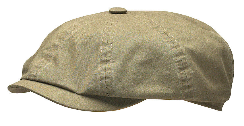fa3ab40641926b Stetson 6841106 Hatteras Delave Flat Cap (Olive)   Son of a Stag