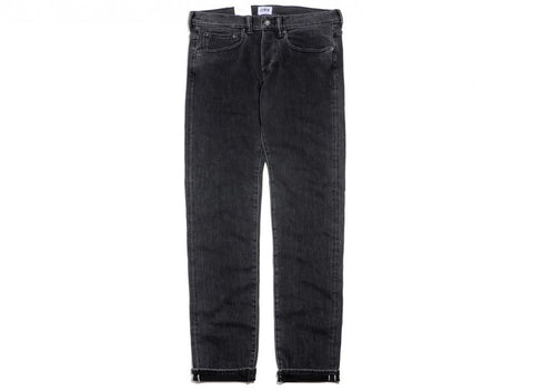 Edwin ED-80 White Listed Black Selvage Jean (Easy Acid Wash)