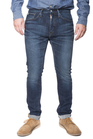 Edwin ED-80 Nihon Menpu Stretch Fabric Jean (Dark Used)