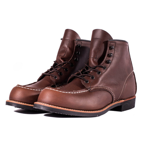 "Red Wing 2954 6"" Cooper Moc Toe Boots (Amber Harness)"