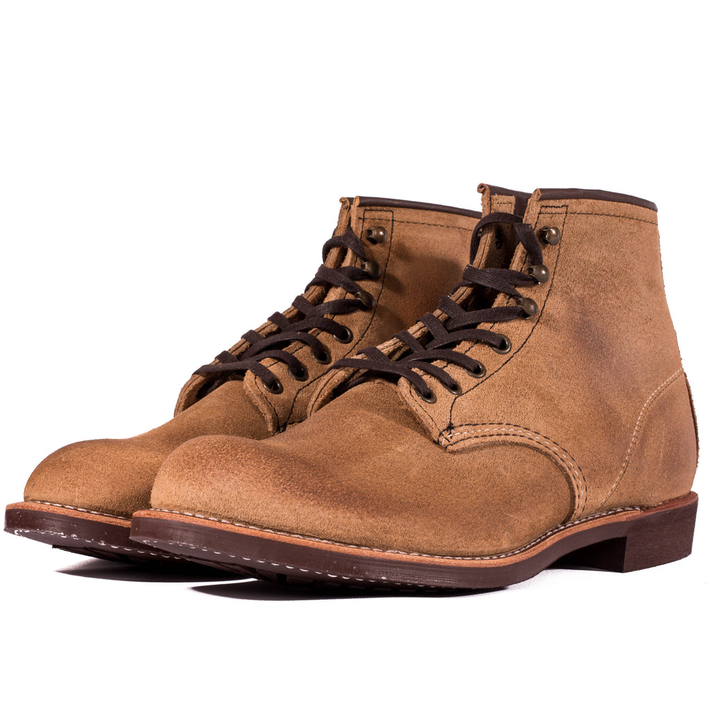 red wing suede boots