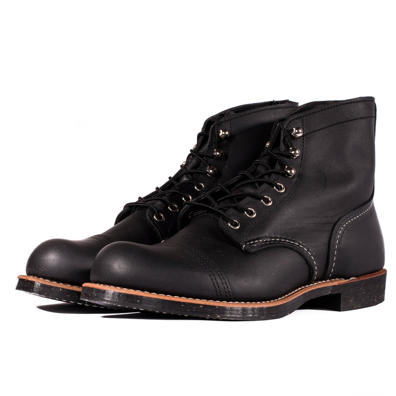 "Red Wing 8114 6"" Iron Ranger Boots (Black Harness)"