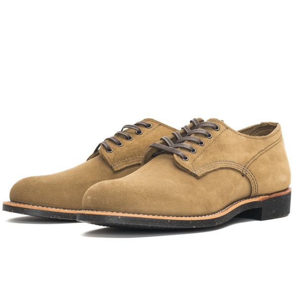 Red Wing 8043 Merchant Oxford Shoe (Olive Mohave)