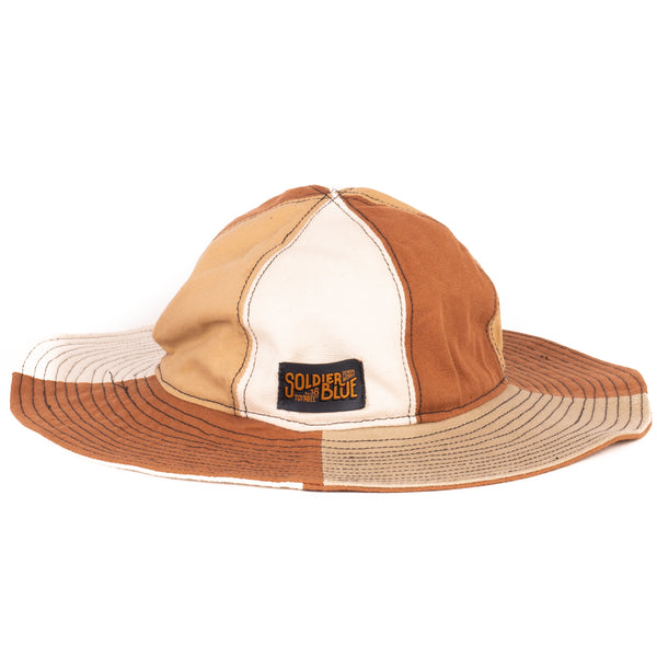 Soldier Blue Brick Lane Booner Hat (Mother Earth)