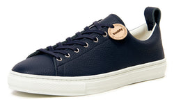 Buddy Bull Terrier Low Chubby Sneaker (Dark Navy Grain Leather)
