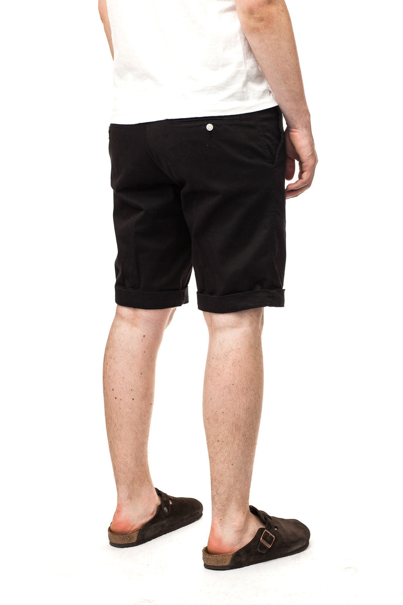 Edwin Rail Bermuda Shorts Black