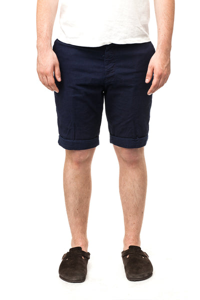 Edwin Rail Bermuda Rinsed Shorts Japanese Double Indigo