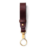Tanner Goods Key Ring Lanyard Dark Oak