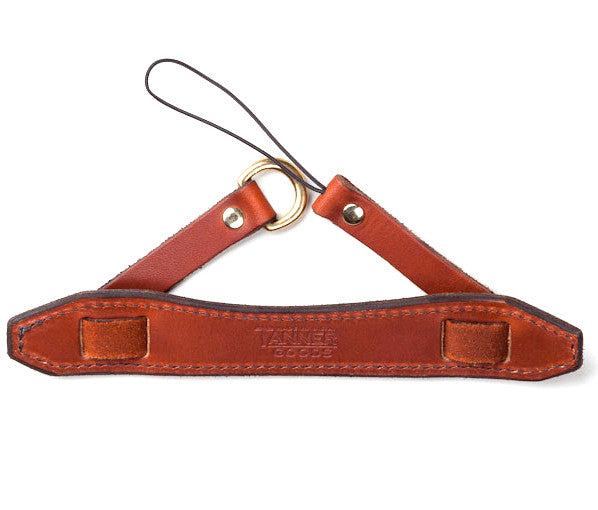 Tanner Goods Point & Shoot Camera Strap Chicago Tan