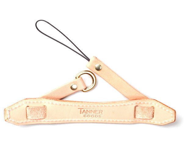 Tanner Goods Point & Shoot Camera Strap Natural