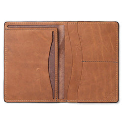 Tanner Goods Travel Wallet Rich Moc