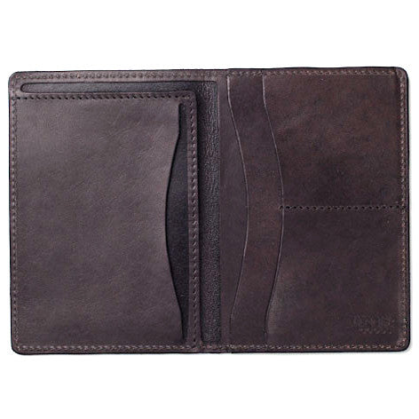 Tanner Goods Travel Wallet Black