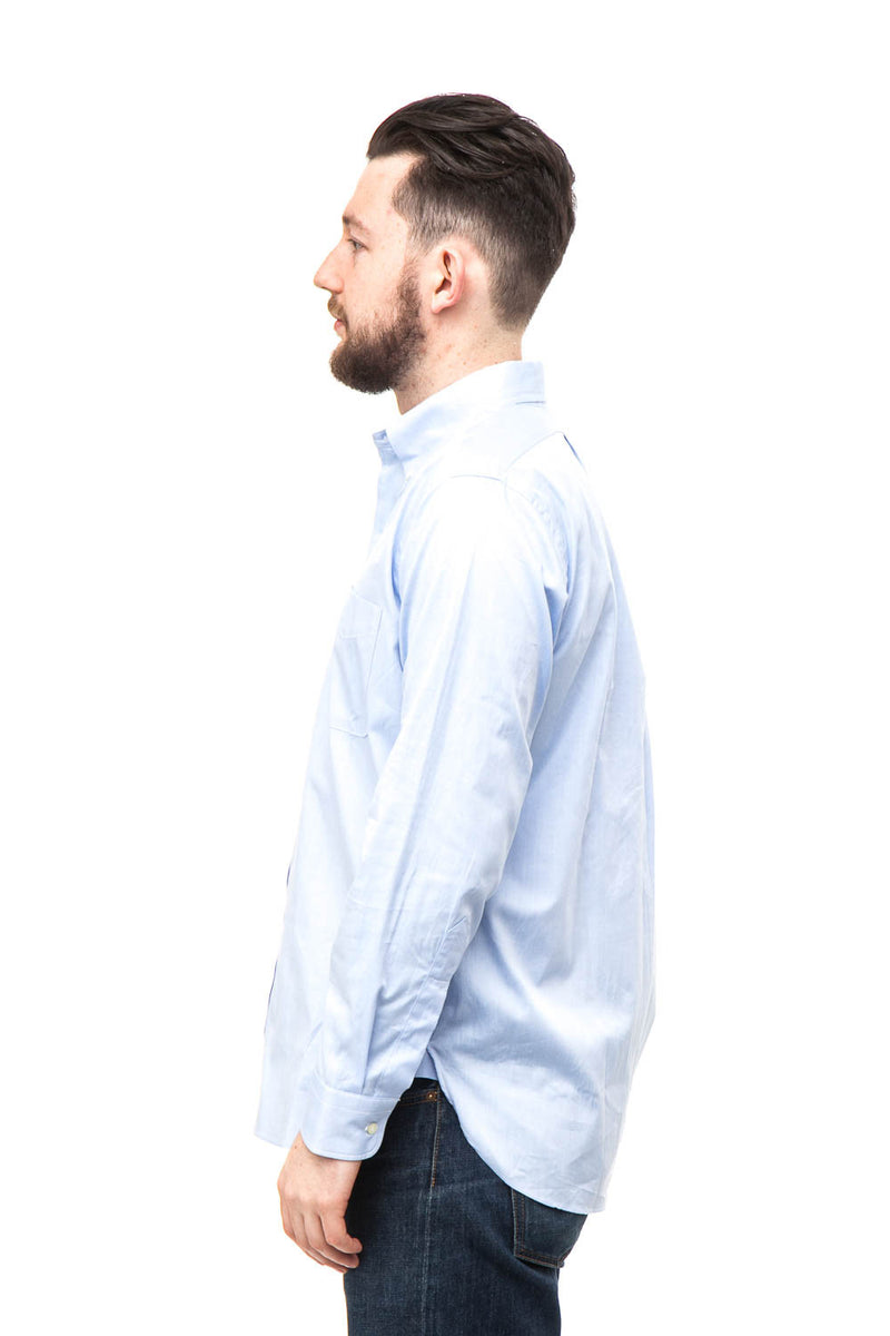 Workers Classic Button Down Shirt Blue
