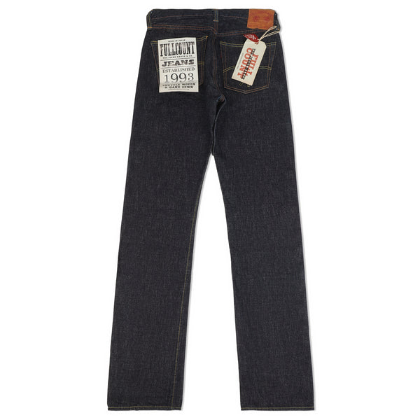 Full Count 1108XXW 15.5oz Regular Straight Jean (Washed)