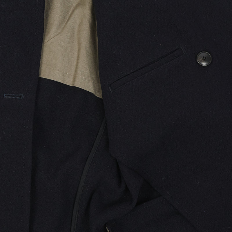 Gorouta 0304 Wool Coat (Navy)