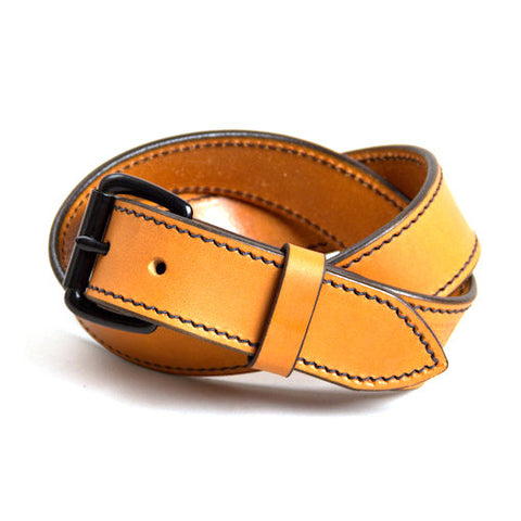 Tanner Goods Heritage Belt Saddle Tan