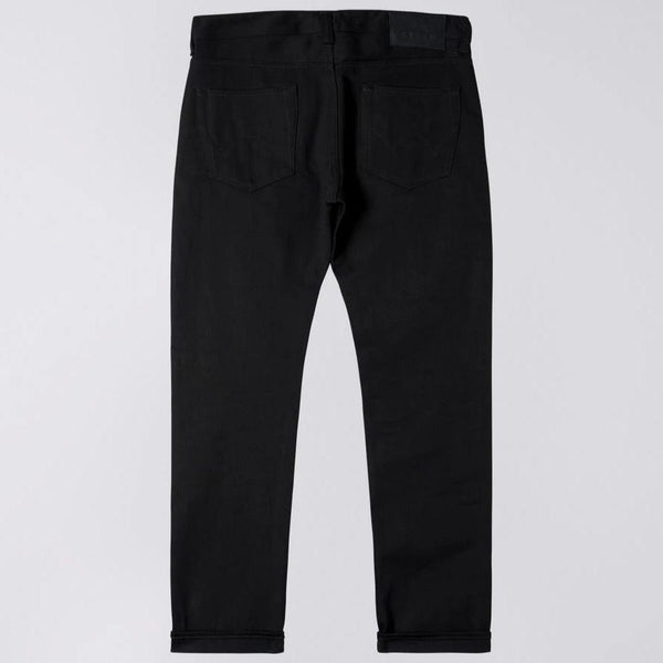 Edwin ED-80 White Listed Black Selvage Jeans