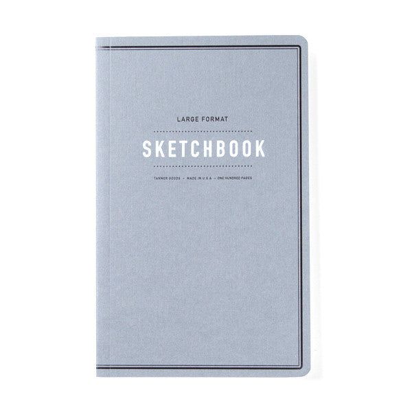 Tanner Goods Large Format Sketchbook Charcoal