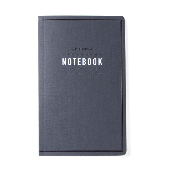 Tanner Goods Large Format Notebook Black