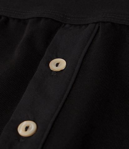 Merz b. Schwanen 255 Button Facing Underpants (Deep Black)