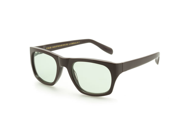The Reference Library Michael Brown Sunglasses (Green)