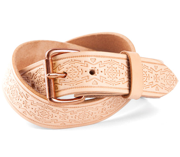 Tanner Goods Standard Belt Natural Geoglyph