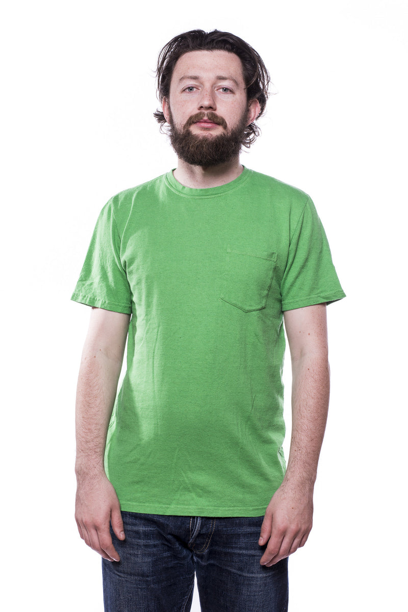 Jungmaven Baja SS Pocket 7oz T-Shirt Parakeet Green