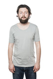 Merz b. Schwanen 213 Army Shirt Grey